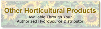 Horticultural Products HydroSource Distributor